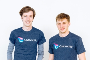 Alex Bowman (left) and Chris Ridenour (right), co-founders of Casamatic
